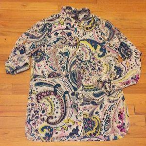 Talbots women's shirt blouse